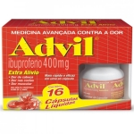 ADVIL 400MG COM 16 CÁPSULAS