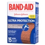 BAND-AID ULTRA PROTECTION COM 15 UNIDADES
