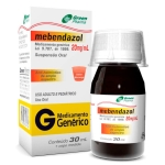 MEBENDAZOL 20MG/ML COM 30ML
